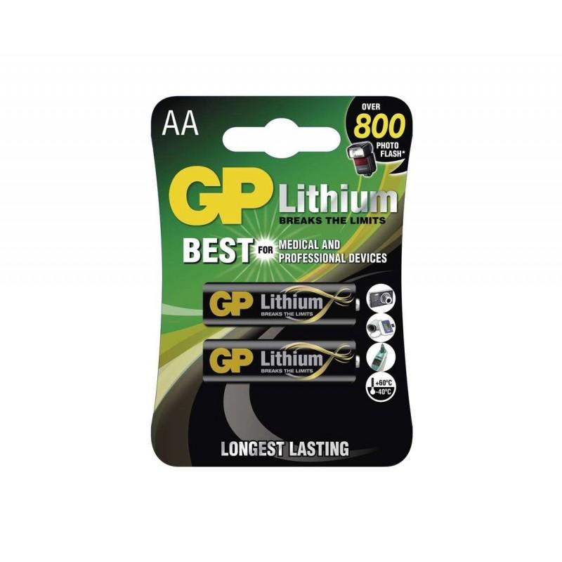 Baterie litowe AA FR6, 1.5V GP - 4 sztuki